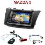 Pack autoradio GPS Mazda 3 de 2010 à 2014 - INE-W990HDMI, INE-W710D, INE-W987D ou ILX-702D au choix