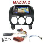 Pack autoradio GPS Mazda 2 depuis 2007 - INE-W990BT, INE-W997D ou ILX-700 au choix