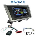 Autoradio 2-DIN Clarion Mazda 6 de 2008 à 2012 - VX404E