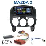 Autoradio 2-DIN Clarion Mazda 2 depuis 2007 - VX404E