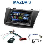 Autoradio 2-DIN Clarion Mazda 3 de 2010 à 2014 - VX404E