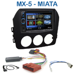 Autoradio 2-DIN Clarion Mazda MX-5 et Miata 6 depuis 2006 - VX404E