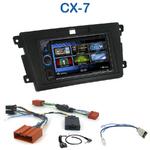 Autoradio 2-DIN Alpine Mazda CX7 depuis 2007 - CDE-W233R, CDE-W235BT, IVE-W585BT ou ICS-X8 au choix