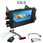 Autoradio 2-DIN GPS NX302E, NX405E, NX505E ou NX706E Mazda CX-5 depuis 2012