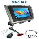 Autoradio 2-DIN GPS NX302E, NX405E, NX505E ou NX706E Mazda 6 depuis 2011