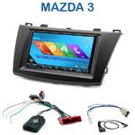 Autoradio 2-DIN GPS NX302E, NX405E, NX505E ou NX706E Mazda 3 depuis 2010