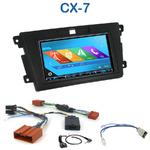 Autoradio 2-DIN GPS NX302E, NX405E, NX505E ou NX706E Mazda CX-7 depuis 2007