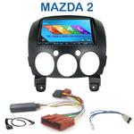 Autoradio 2-DIN GPS NX302E, NX405E, NX505E ou NX706E Mazda 2 depuis 2007
