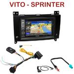 Autoradio GPS Mercedes Vito et Sprinter depuis 2015 - INE-W990BT, INE-W997D ou ILX-700 au choix