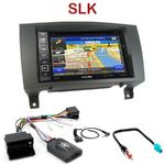 Pack autoradio GPS Mercedes SLK (R171) de 04/2008 à 03/2011 - INE-W990BT, INE-W997D ou ILX-700 au choix