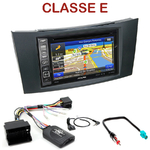 Pack autoradio GPS Mercedes Classe E W211 de 2002 à 2009 - INE-W990BT, INE-W997D ou ILX-700 au choix