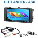 Autoradio 2-DIN GPS NX302E, NX405E, NX505E ou NX706E Mitsubishi Outlander depuis 2013
