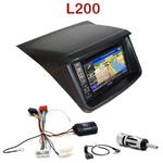 Pack autoradio GPS Mitsubishi L200 depuis 2012- INE-W990HDMI, INE-W710D, INE-W987D ou ILX-702D au choix