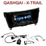 Autoradio 2-DIN Alpine Nissan Qashqai et X-Trail depuis 2014 - CDE-W296BT, IVE-W560BT OU IVE-W585BT AU CHOIX