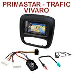 Pack autoradio GPS Opel Vivaro & Renault Trafic depuis 2015 - INE-W990HDMI, INE-W710D, INE-W987D ou ILX-702D au choix