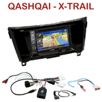 Pack autoradio GPS Nissan Qashqai et X-Trail depuis 2014 - INE-W990BT, INE-W997D ou ILX-700 au choix