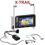 Pack autoradio GPS Nissan X-trail depuis 2007 -  INE-W990BT, INE-W997D ou ILX-700 au choix