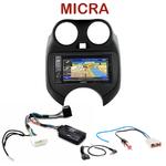Pack autoradio GPS Nissan Micra de 2011 à 2013 -  INE-W990BT, INE-W997D ou ILX-700 au choix