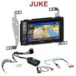 Pack autoradio GPS Nissan Juke de 2010 à 2013  INE-W990BT, INE-W997D ou ILX-700 au choix