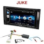 Autoradio 2-DIN Alpine Nissan Juke depuis 2014 - CDE-W296BT, IVE-W560BT OU IVE-W585BT AU CHOIX
