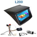 Autoradio 2-DIN GPS NX302E, NX405E, NX505E ou NX706E Mitsubishi L200 depuis 2012