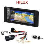 Pack autoradio GPS Toyota Hilux de 2007 à 2012 - INE-W990BT, INE-W997D ou ILX-700 au choix