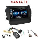 Autoradio 2-DIN Alpine Hyundai Santa Fe depuis 2012 - CDE-W296BT, IVE-W560BT OU IVE-W585BT AU CHOIX