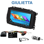 Autoradio 2-DIN GPS NX302E, NX405E, NX505E ou NX706E Alfa Romeo Giulietta depuis 2013