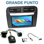 Autoradio 2-DIN GPS NX302E, NX405E, NX505E ou NX706E Fiat Grande Punto depuis 2005