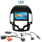 Autoradio 2-DIN GPS NX302E, NX405E, NX505E ou NX706E Hyundai i30 de 2007 à 2012 - climatisation automatique