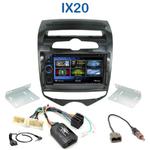 Autoradio 2-DIN Clarion Hyundai IX20 depuis 2010 - VX404E
