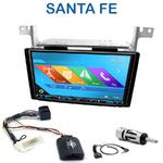 Autoradio 2-DIN GPS NX302E, NX405E, NX505E ou NX706E Hyundai Santa Fe de 2007 à 2012