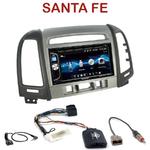 Autoradio 2-DIN Alpine Hyundai Santa Fe de 2007 à 2012 (3 boutons) - CDE-W296BT, IVE-W560BT OU IVE-W585BT AU CHOIX