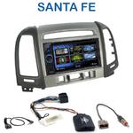 Autoradio 2-DIN Clarion Hyundai Santa Fe de 2007 à 2012 (3 boutons) - VX404E
