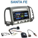 Autoradio 2-DIN Clarion Hyundai Santa Fe de 2007 à 2012 (4 boutons) - VX404E