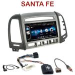 Autoradio 2-DIN Alpine Hyundai Santa Fe de 2007 à 2012 (4 boutons) - CDE-W296BT, IVE-W560BT OU IVE-W585BT AU CHOIX