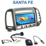 Autoradio 2-DIN GPS NX302E, NX405E, NX505E ou NX706E Hyundai Santa Fe de 2007 à 2012 avec 4 boutons
