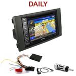 Pack autoradio GPS Iveco Daily de 2009 à 2013 - INE-W990BT, INE-W997D ou ILX-700 au choix