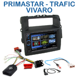 Autoradio 2-DIN Clarion Nissan Primastar, Opel Vivaro & Renault Trafic de 2011 à 2014 - VX404E