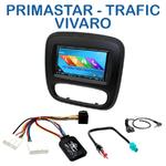 Autoradio 2-DIN GPS NX302E, NX405E, NX505E ou NX706E Opel Vivaro & Renault Trafic depuis 2015
