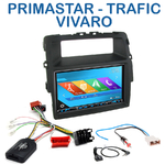 Autoradio 2-DIN GPS NX302E, NX405E, NX505E ou NX706E Renault Trafic Opel Vivaro et Nissan Primastar depuis 2011 avec display