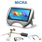 Autoradio 2-DIN GPS NX302E, NX405E, NX505E ou NX706E Nissan Micra de 2011 à 2013