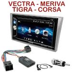 Autoradio 2-DIN Alpine Opel Agila Combo Corsa Meriva Tigra Twin Top Vectra Vivaro - CDE-W296BT, IVE-W560BT OU IVE-W585BT AU CHOIX