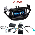 Autoradio 2-DIN Alpine Opel Adam depuis 2013 - CDE-W296BT, IVE-W560BT OU IVE-W585BT AU CHOIX