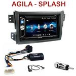 Autoradio 2-DIN Alpine Opel Agila & Suzuki Splash depuis 2008 - CDE-W296BT, IVE-W560BT OU IVE-W585BT AU CHOIX