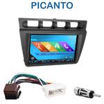 Autoradio 2-DIN GPS NX302E, NX405E, NX505E ou NX706E Kia Picanto de 2004 à 2007