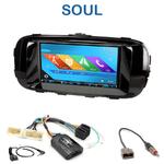 Autoradio 2-DIN GPS NX302E, NX405E, NX505E ou NX706E Kia Soul depuis 2014