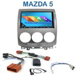 Autoradio 2-DIN GPS NX302E, NX405E, NX505E ou NX706E Mazda 5 de 05/2005 à 03/2008