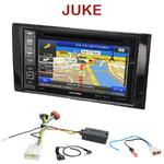 Autoradio GPS Nissan Juke depuis 05/2014 - INE-W990HDMI, INE-W710D, INE-W987D ou ILX-702D au choix