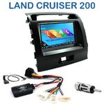 Autoradio 2-DIN GPS NX302E, NX405E, NX505E ou NX706E Toyota Land Cruiser 200 de 2008 à 2013
